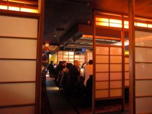 Inside Kobe Japanese Steakhouse