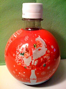 Holiday Coke Bottle Design