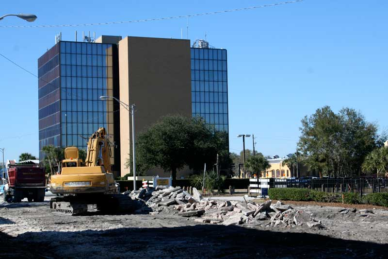 Day 131 – Construction Zone on First Street in Sanford