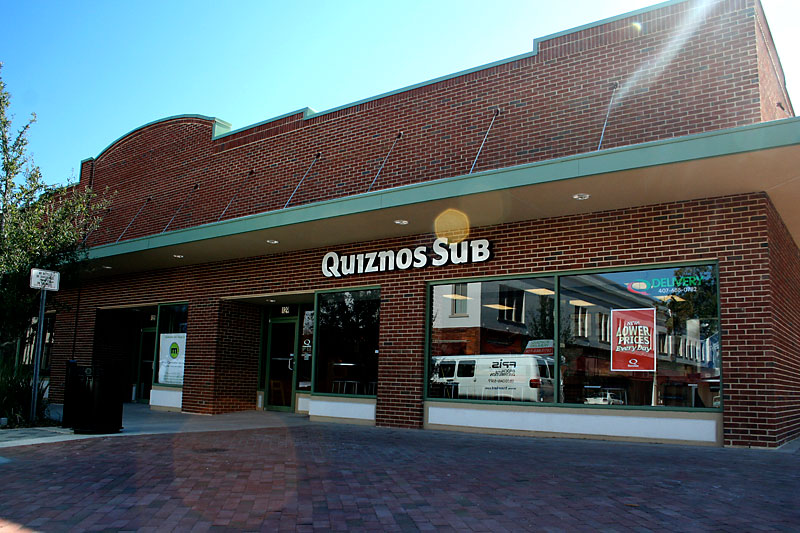 Day 137 – New Quiznos Sub in downtown Sanford FL