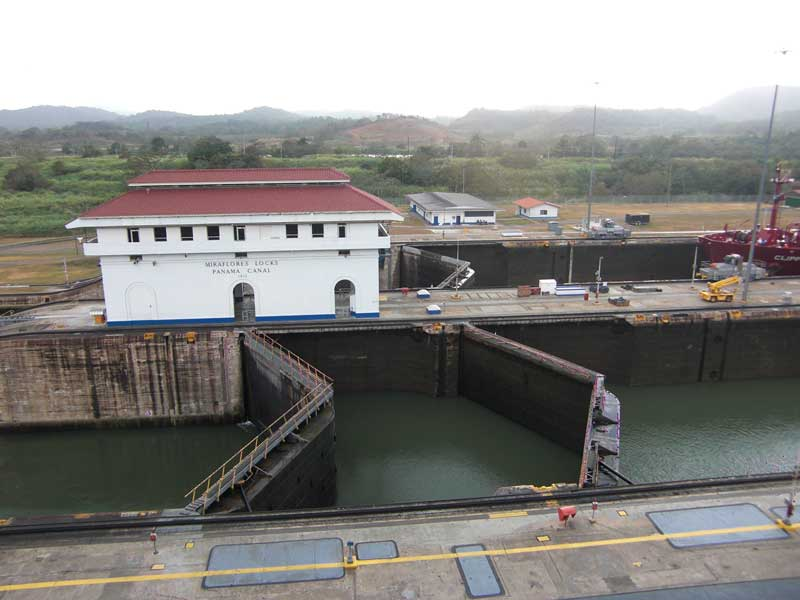 Day 158 – Miraflores Locks at the Panama Canal