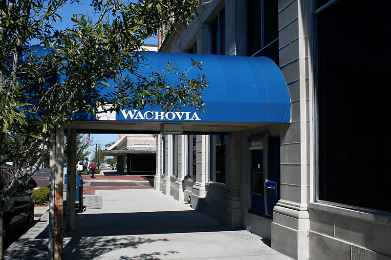 Day 161 – Wachovia Bank in Downtown Sanford FL