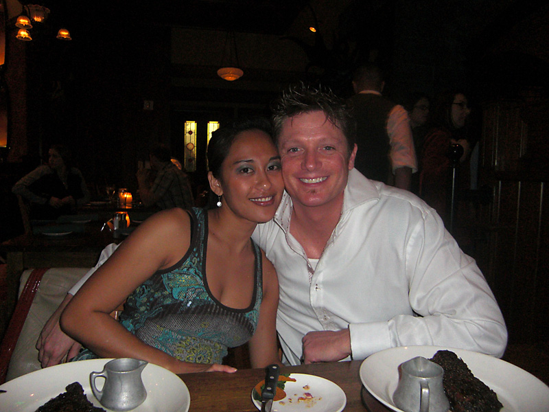 Audrey and Brian at Nine Fine Irishmen