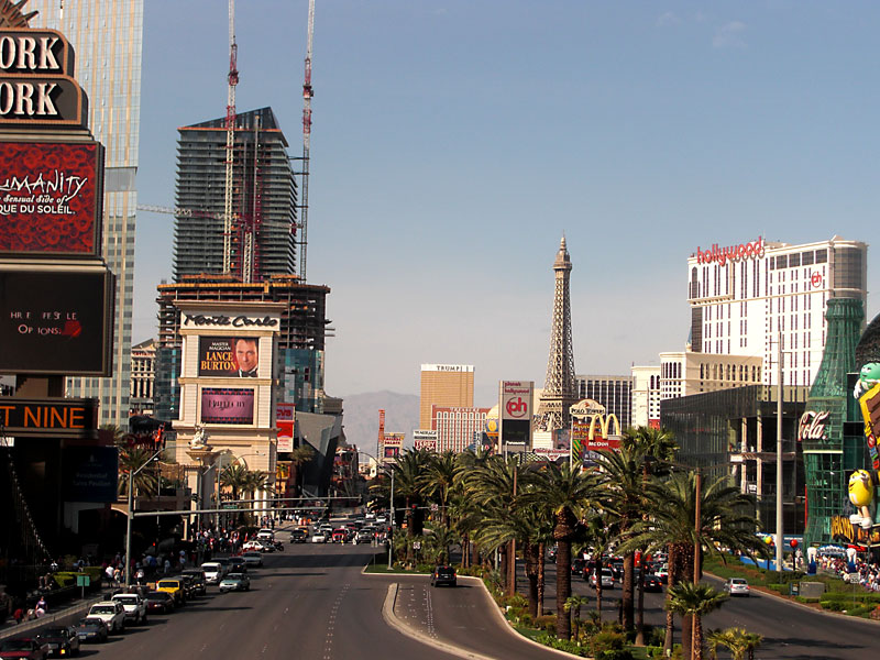 The Strip at daylight