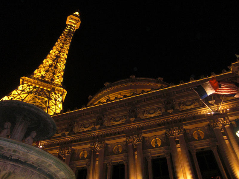 Paris Las Vegas - almost like France ;)
