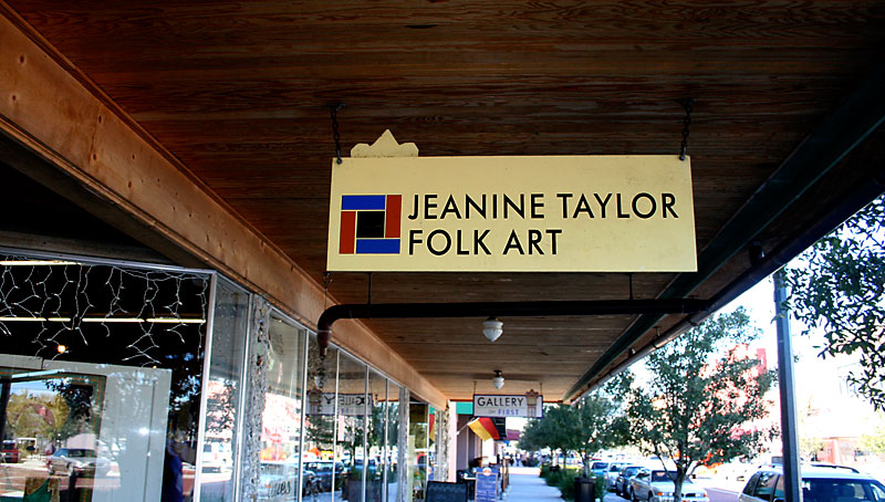 Day 200 – Jeanine Taylor Folk Art in Sanford FL on First Street