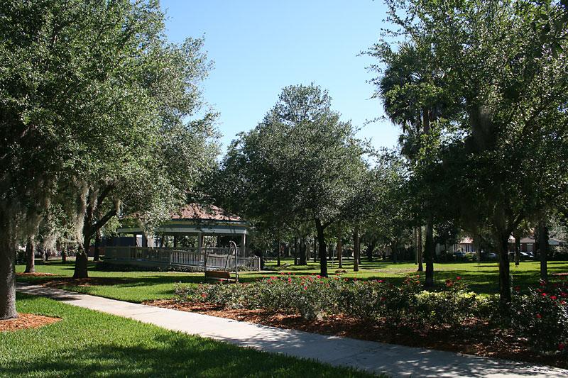 Centennial Park in Sanford