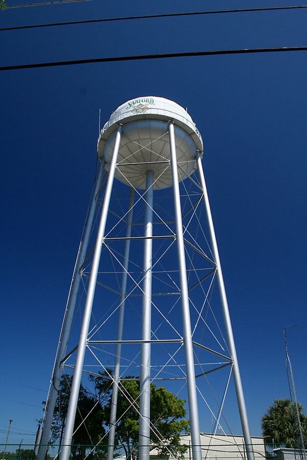 Day 223 – Water Tower in Sanford FL