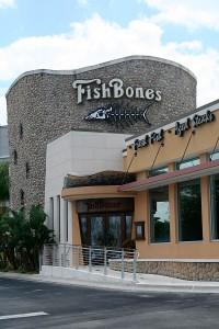 Fishbones in Lake Mary FL
