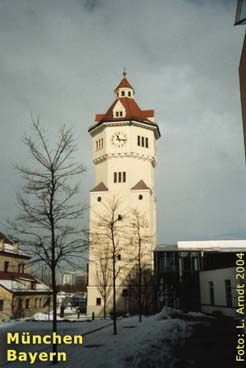 Water tower in Munich, close to my home town