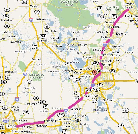 Day 246 – I-4 East and West