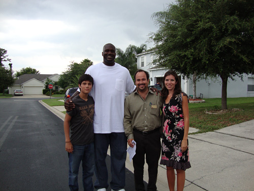 Day 279 – Meeting Shaquille O'Neal