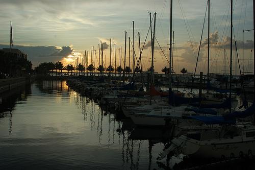 Lake Monroe in Sanford FL by Christopher Middlebrook