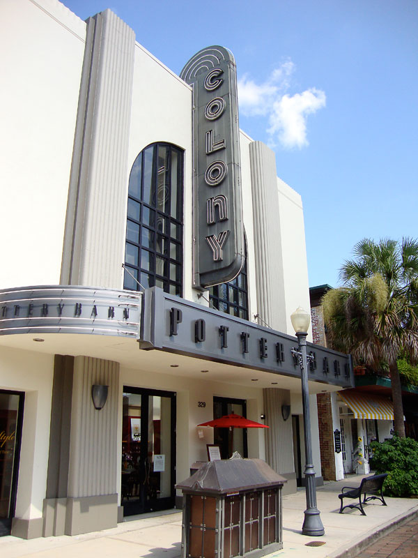 Old Colony Theater Winter Park Park Avnue