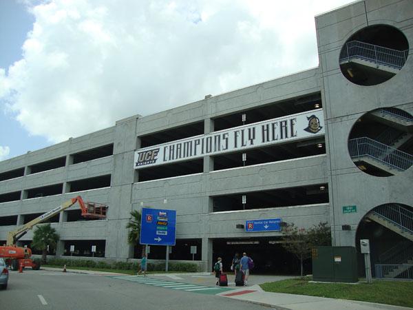 Parking at Sanford International