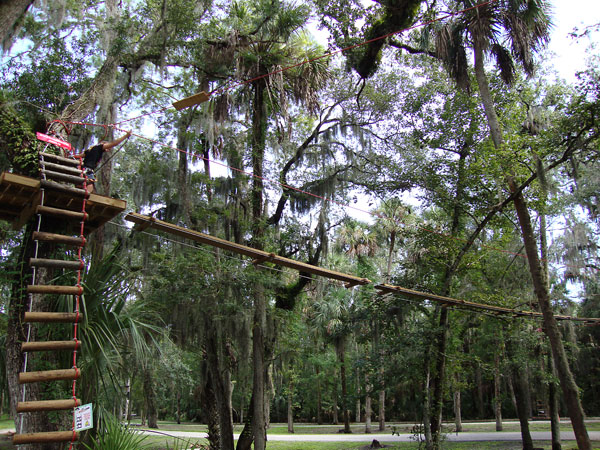 Zip Lines At The Sanford Zoo