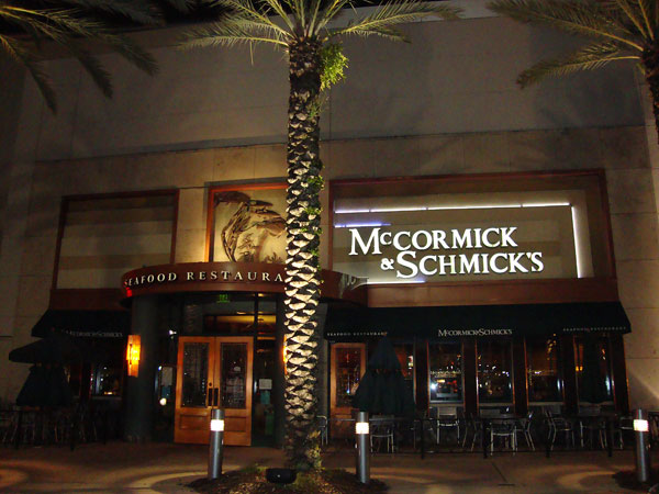 Mccormick & Schmick's Orlando