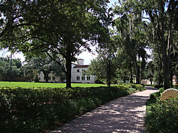 Rollins College on campus