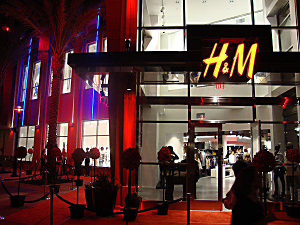 H&M VIP Opening Party at Florida Mall Orlando FL