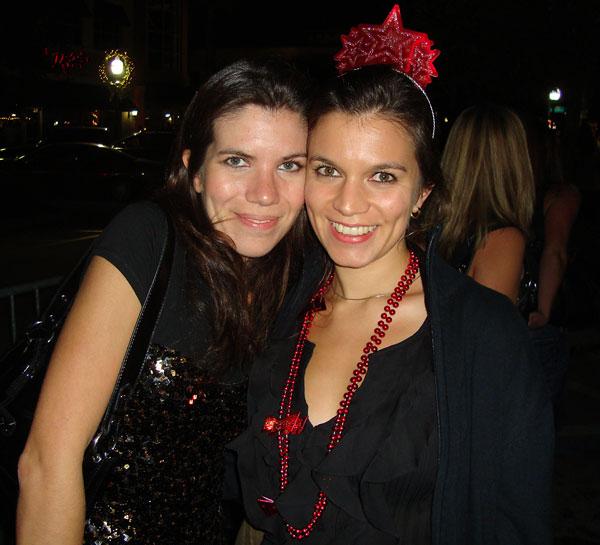 With my sister Gabi