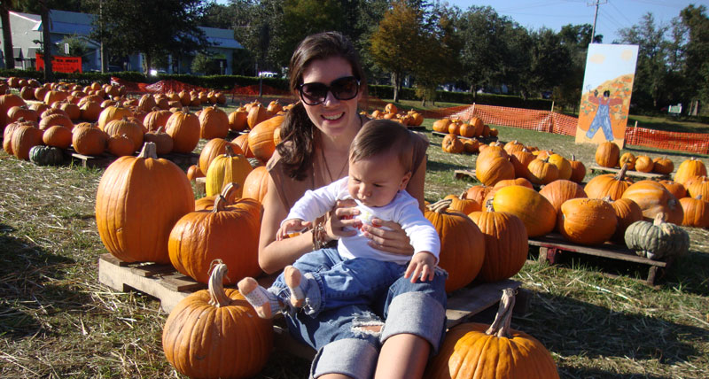 Picture of My Day – 55 – At the Pumpkin Patch in Sanford