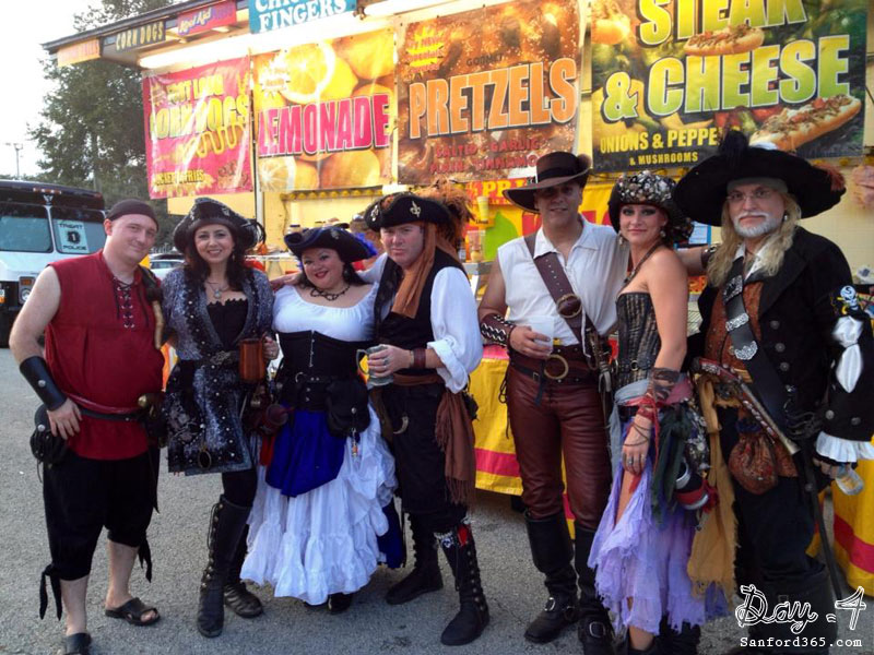 Day 4 – Pirates in Sanford