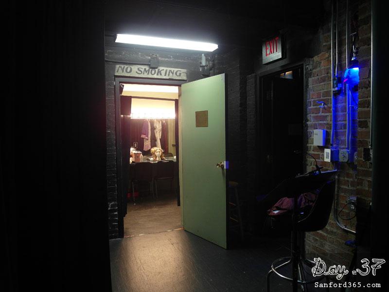 Dressing Room at Wayne Densch Performing Arts Center