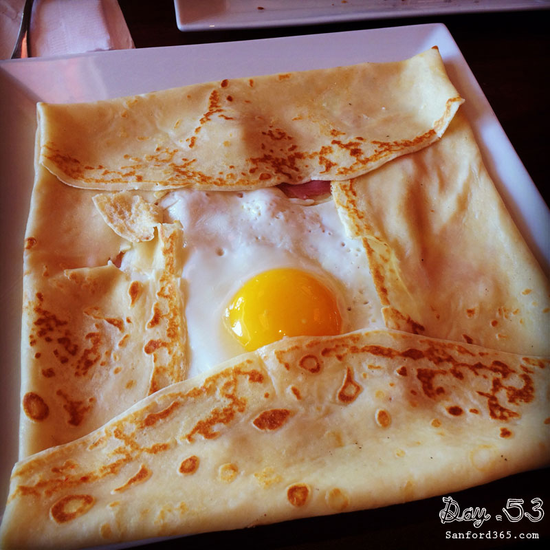 Day 53 – Sunrise Crepe at Darmani's
