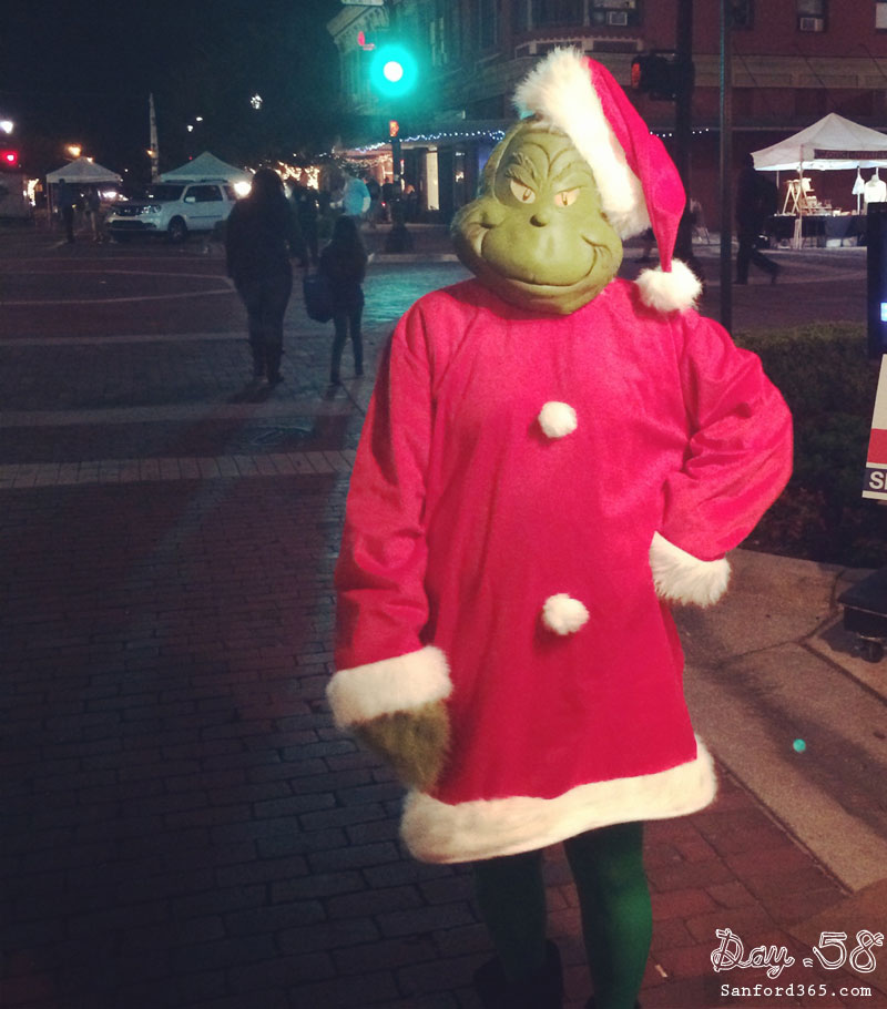 Day 58 – The Grinch in Sanford