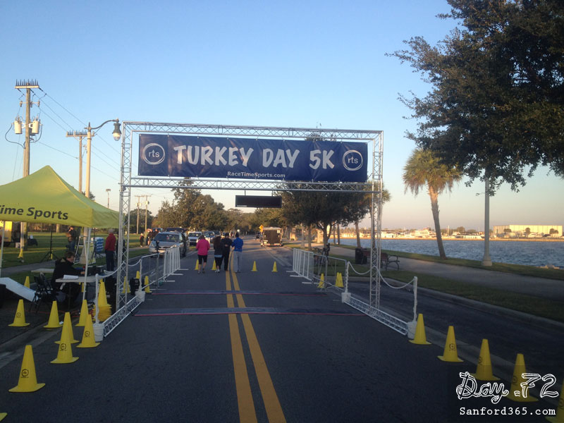 Day 72 – Turkey Day 5K