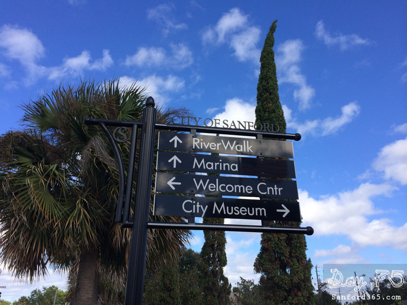 Day 75 – Sanford's Directional Signs