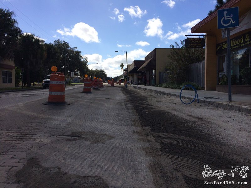 Day 78 – Sanford Avenue in Progress