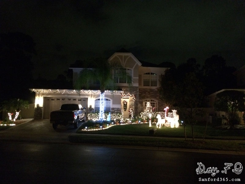 Day 79 – Lights in the 'burbs