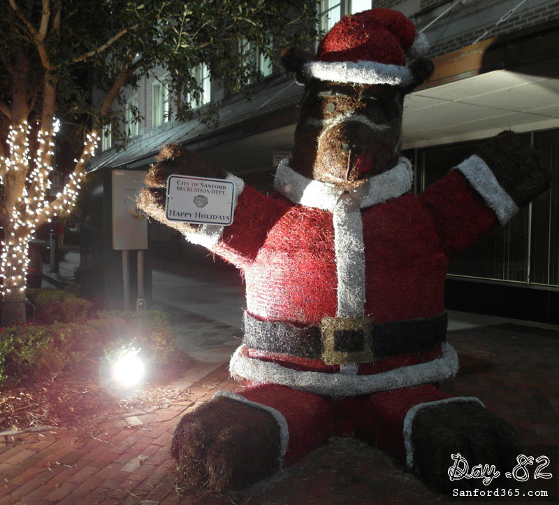 Day 82 – The Christmas Bear