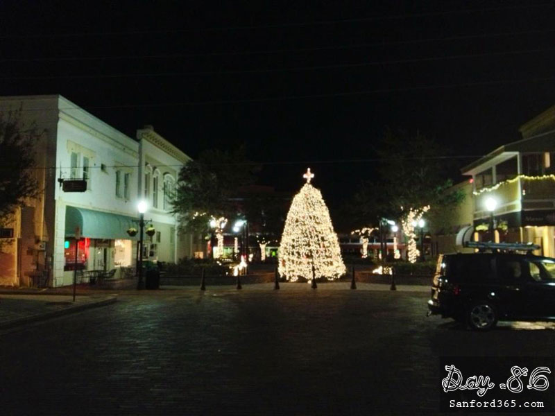Sanford FL Christmas Tree