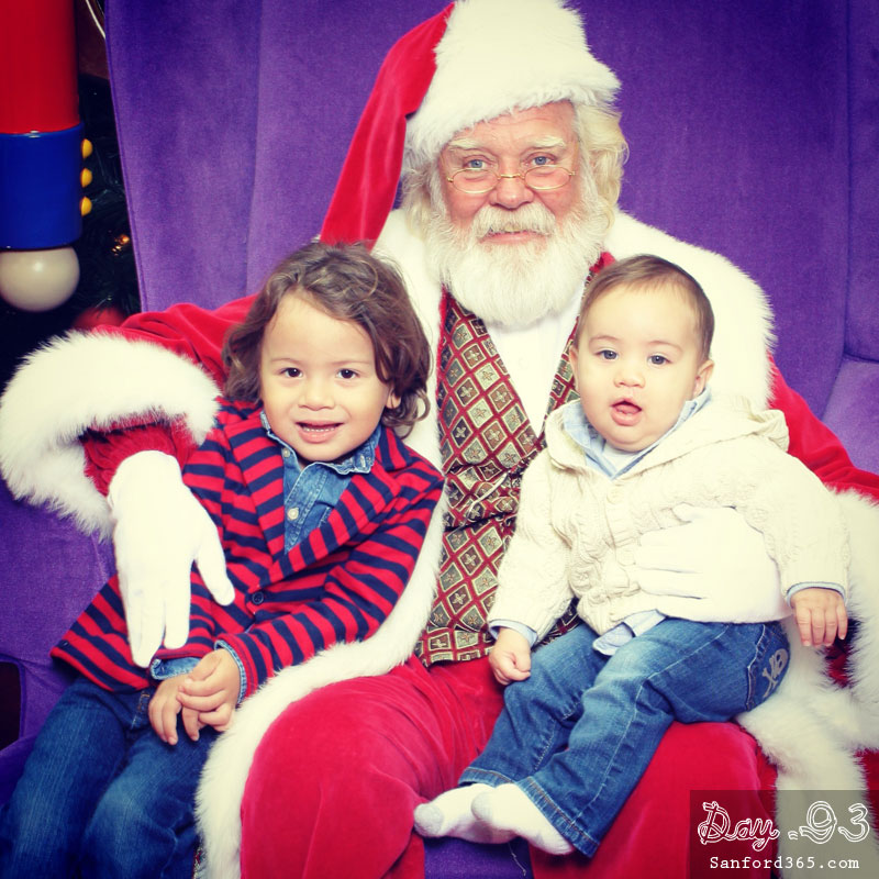 Day 93 – Santa at Seminole Town Center