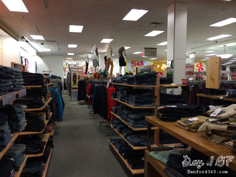 Day 107 – Inside Kohls