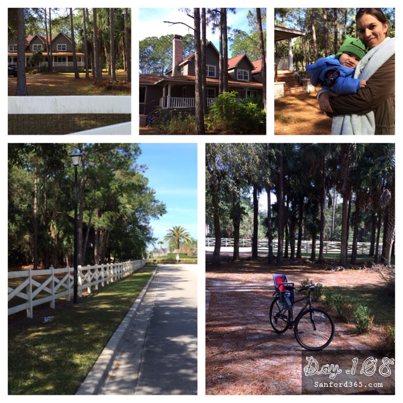 Sanford FL Home Tours by Bike