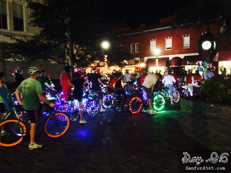 Day 96 – Illuminated Bikes