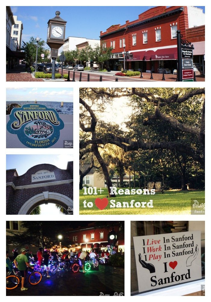 101+ Reasons to Love Sanford Florida