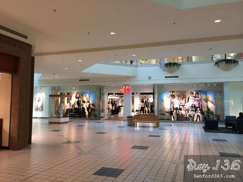 Day 136 – Mall Walker