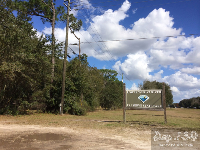 Day 139 – Lower Wekiva River Preserve State Park