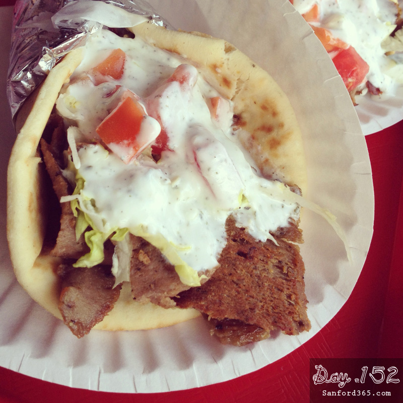 Day 152 – Tony's Deli has the best Gyros in town