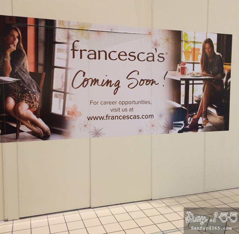 Day 155 – Francesca's