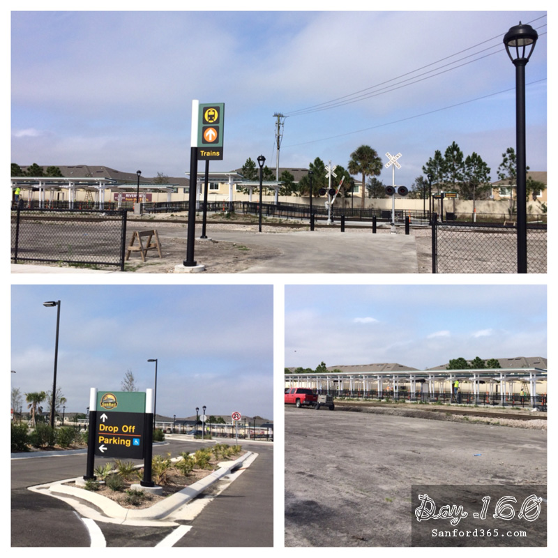 Day 160 – Sun Rail Station in Sanford