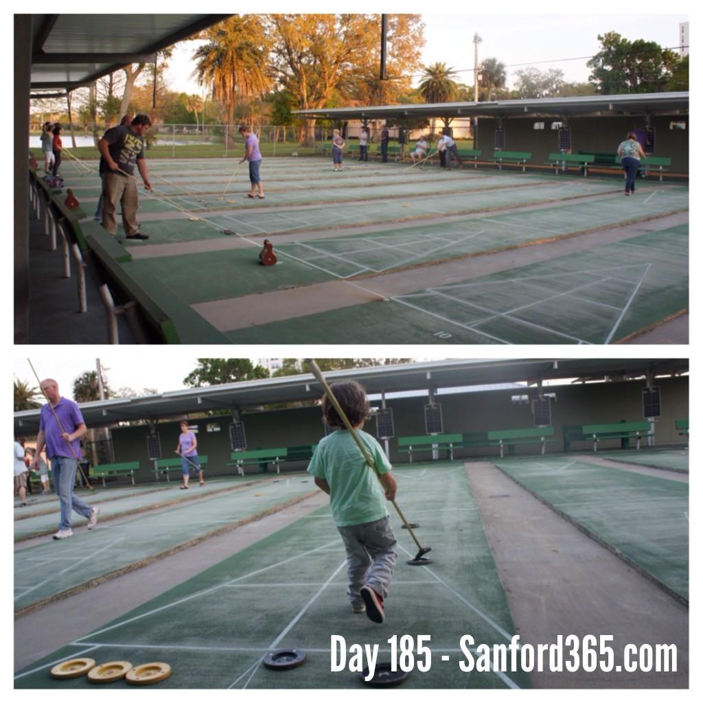Day 185 – The Sanford Shuffle