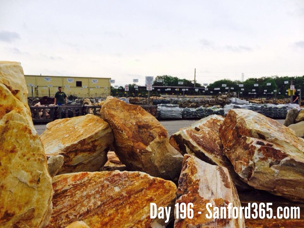 Day 196 – Pebble Paradise
