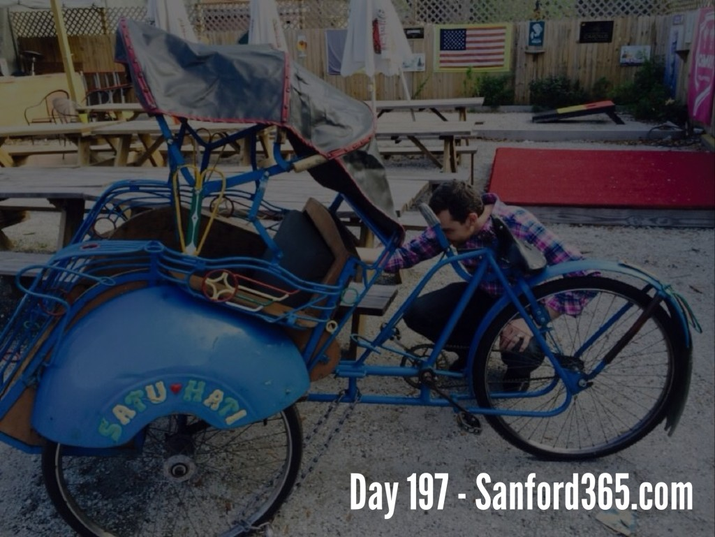 Day 197 – The Sanford Rickshaw