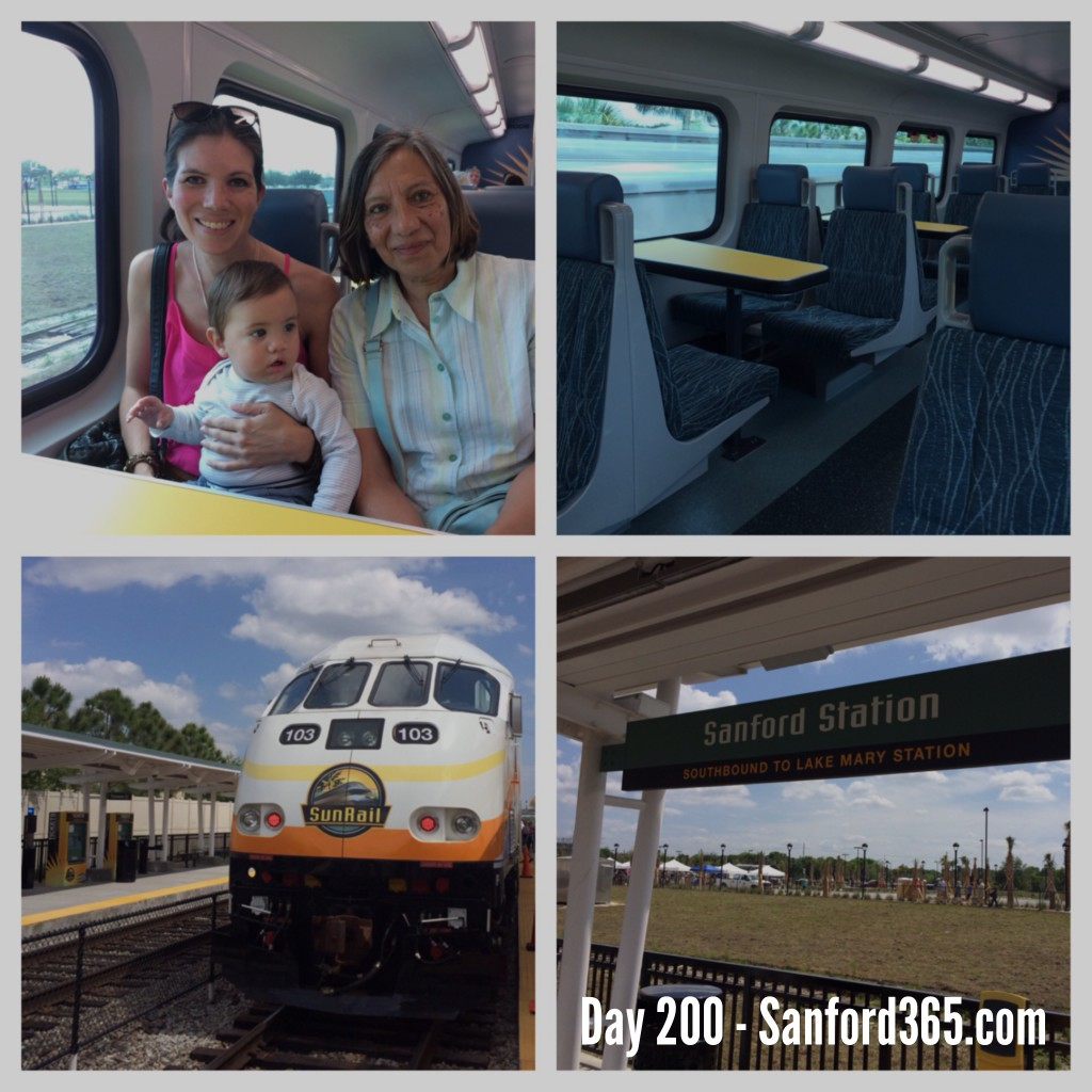 Day 200 – Sunrail Grand Opening