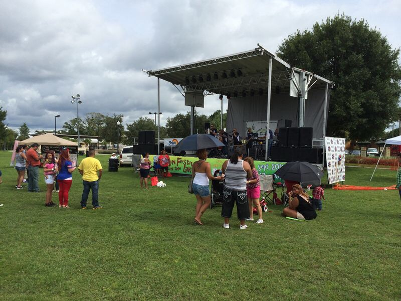 Pictures of the Latin Festival at Ft.Mellon Park